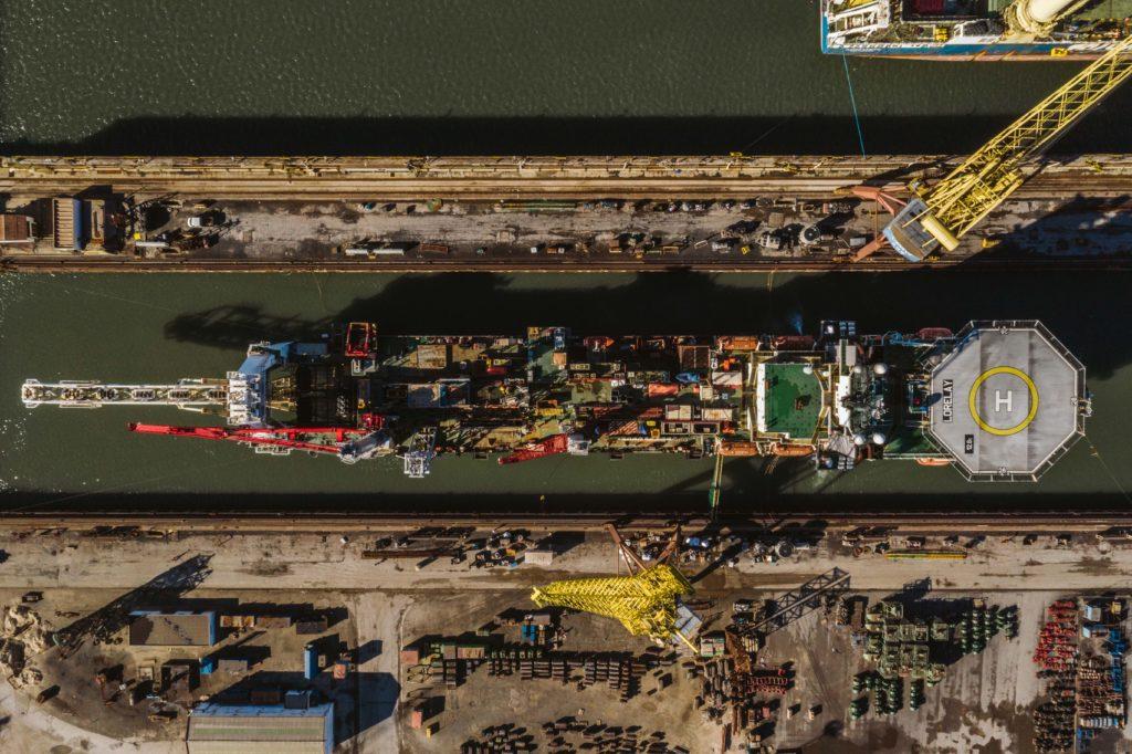 dry docking drone